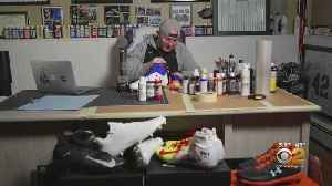 Snapshot NY: New Jersey Man Designs Hand-Painted Cleats For NFL Players [Video]