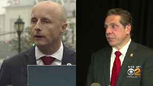 News video: Is MTA President Andy Byford Leaving Because Of Clashes With Gov. Andrew Cuomo?