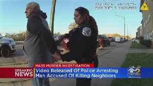 Body Cam Video Shows Arrest Of Suspected Killer [Video]