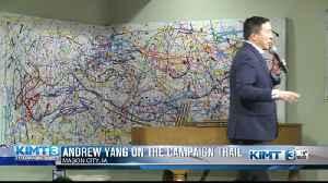Yang campaigns in North Iowa [Video]