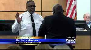 Columbus Police Department adds two new members [Video]