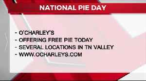 News video: NATIONAL PIE DAY 01-23-2020