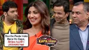 Kapil Sharma FLIRTS With Shilpa Shetty, Makes FUN OF Rajpal Yadav   The Kapil Sharma Show Hungama 2 [Video]