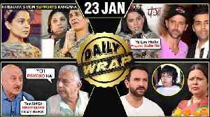 Akshay Kumar Durgavati, Kangana Ranaut SLAMS Bollywood Stars, Varun ANGRY On Fan | Top 10 News [Video]
