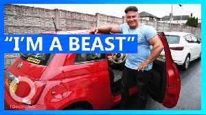 Personal trainer says he's too muscley for parking spaces [Video]