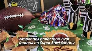 Americans Prefer Food Over Football on Super Bowl Sunday [Video]