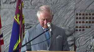 Prince Charles delivers a speech in a Bethlehem church [Video]