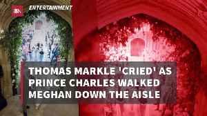 Thomas Markle During Meghan Markle's Wedding [Video]
