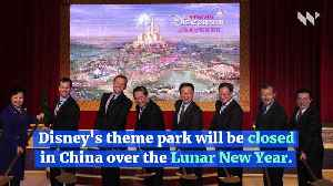 News video: Shanghai Disney Resort to Close Due to Coronavirus
