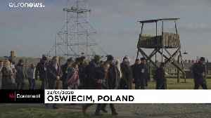 Jewish and Muslim leaders in joint visit to Nazi death camp Auschwitz [Video]