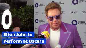 Elton John to Perform at Oscars [Video]