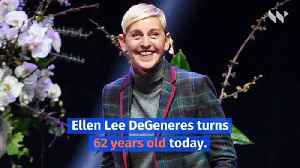 Happy Birthday, Ellen DeGeneres! (Sunday, January 26) [Video]