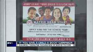 Detroit head start program working to combat more than 50 percent illiteracy in the city [Video]