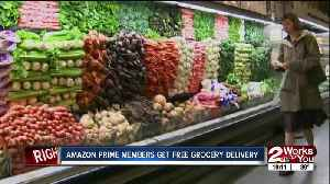 Amazon Prime members get free grocery delivery [Video]