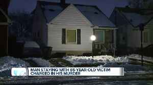 Man staying with 85-year-old victim charged in his murder [Video]