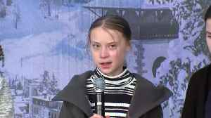 "U.S. Secretary comments have ""no effect"" say Thunberg [Video]"