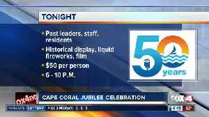 Cape Coral Jubilee celebration happening Friday night [Video]