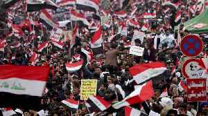 Thousands Gather In Baghdad To Protest U.S. Military Presence [Video]