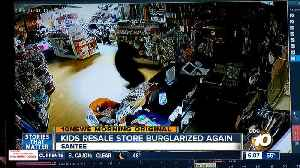 Childrens store in Santee burglarized for 4th time in 3 years [Video]