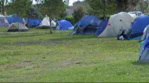 Homeless population increases in John Prince Park, nonprofits respond [Video]