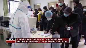CDC to test 3 people in Michigan for possible case of coronavirus, state said [Video]