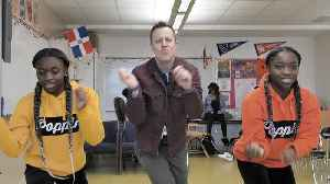 This Teacher Dances With His Students to Motivate Them in Class! [Video]