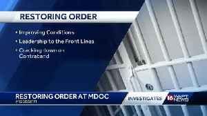 Restoring Order in the MDOC [Video]