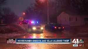 KCMO homeowner shoots, kills alleged intruder [Video]