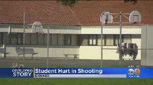 Young Student Wounded By Stray Bullet In Car-To-Car Shooting Near Oxnard Elementary School [Video]