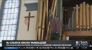Police Searching For Suspects Accused Of Damaging New Jersey Church Organ [Video]
