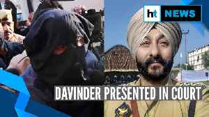 J&K: Davinder Singh, cop who was caught with terrorists, sent to NIA custody [Video]