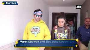 Varun Dhawan Shraddha Kapoor oomph up style game during Street Dancer 3 promotion [Video]