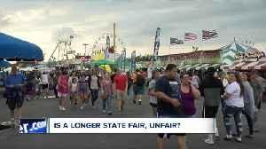 Is a longer state fair, unfair? [Video]