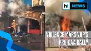 Violence during VHP'S pro-CAA rally in Jharkhand's Lohardaga, curfew imposed [Video]