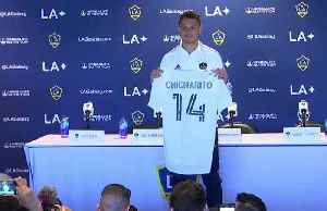 Excited Chicharito hoping to help Galaxy return to top of MLS [Video]
