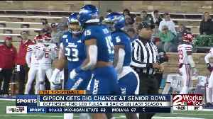 News video: Trevis Gipson looks to capitalize on opportunity to impress NFL scouts at Senior Bowl