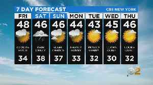 New York Weather: CBS2 1/23 Nightly Forecast at 11PM [Video]