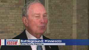 Mike Bloomberg Stumps In Minnesota [Video]
