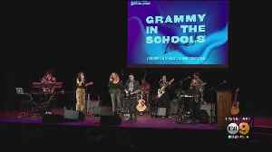 Grammy In The Schools Creates Opportunities For High School Students [Video]