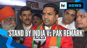 News video: Delhi Elections 2020: Kapil Mishra defends 'India Vs Pak' remark, attacks AAP