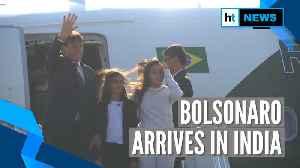 Brazilian President Jair Bolsonaro reaches India; to attend R-day celebration [Video]