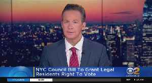 Bill Would Let Green Card Holders Vote In NYC Elections [Video]