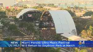 Ultra Music Festival Will Return To Bayfront Park In March [Video]