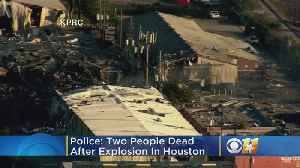 Massive Explosion At Houston Plant Damages Nearby Homes, Businesses [Video]