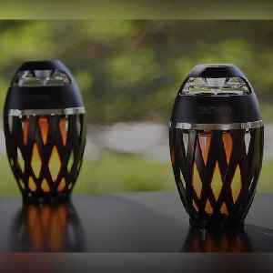This LED flame speaker could be yours [Video]