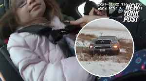 Compassionate trooper uses his 'Frozen' knowledge to calm girl in accident [Video]