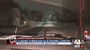 News video: Latest winter storm no problem for Olathe road crews