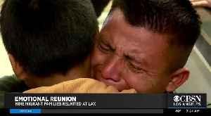 Migrants Families Reunited at LAX [Video]