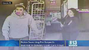 Police Searching For Two Suspects Involved With Credit Card Fraud In Oakdale [Video]