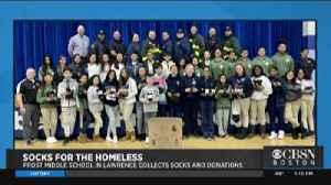 4 Your Community: Socks For The Homeless [Video]